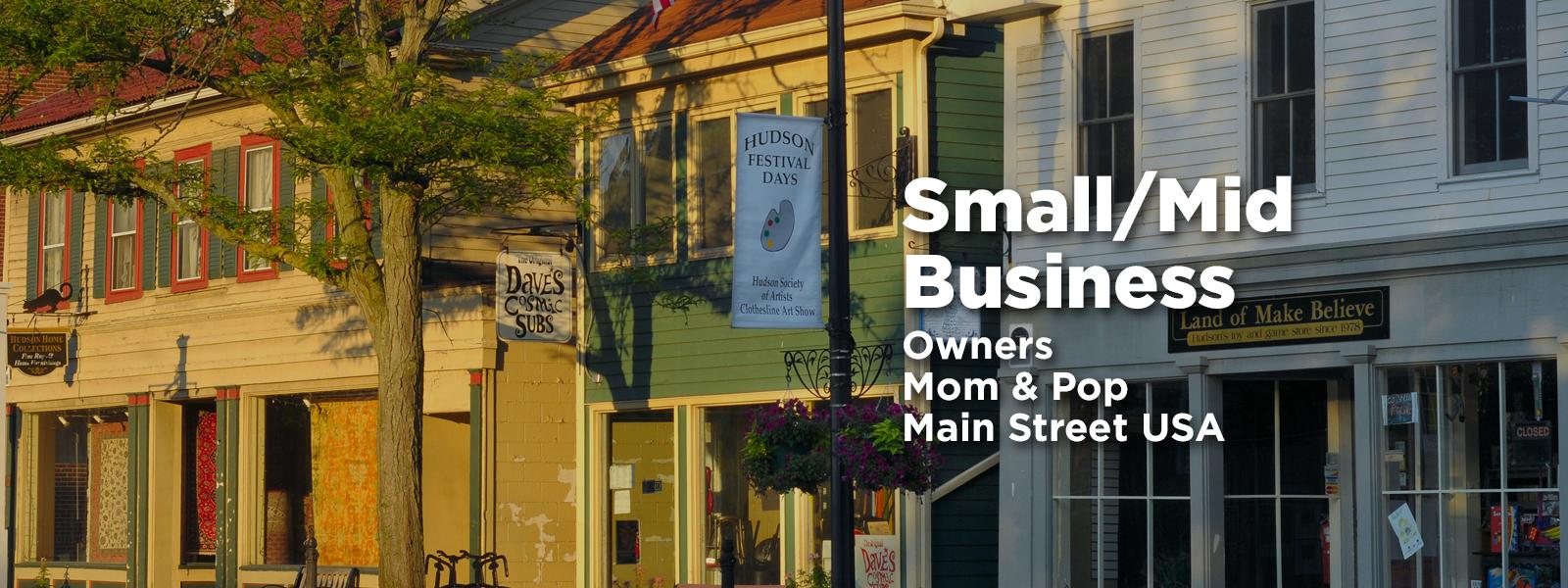 downtown main street business