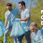 group cleaning in forest